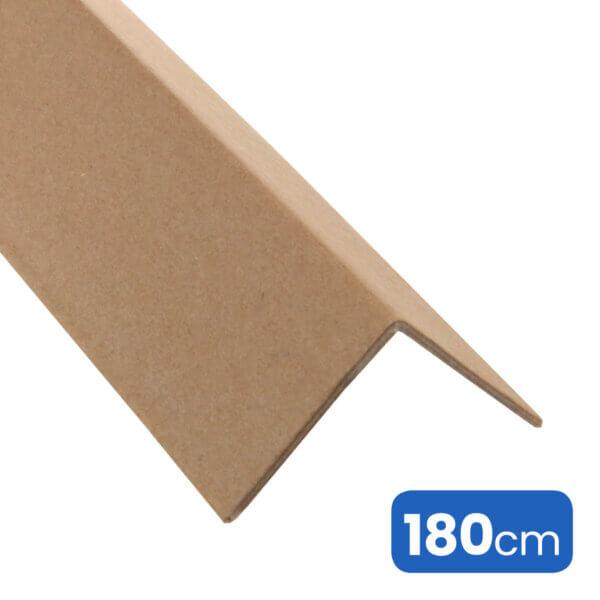 """Kartonnen """"ECO"""" beschermhoeken of hoekprofielen 180cm voor hoek- en randbescherming van de palletlading."""