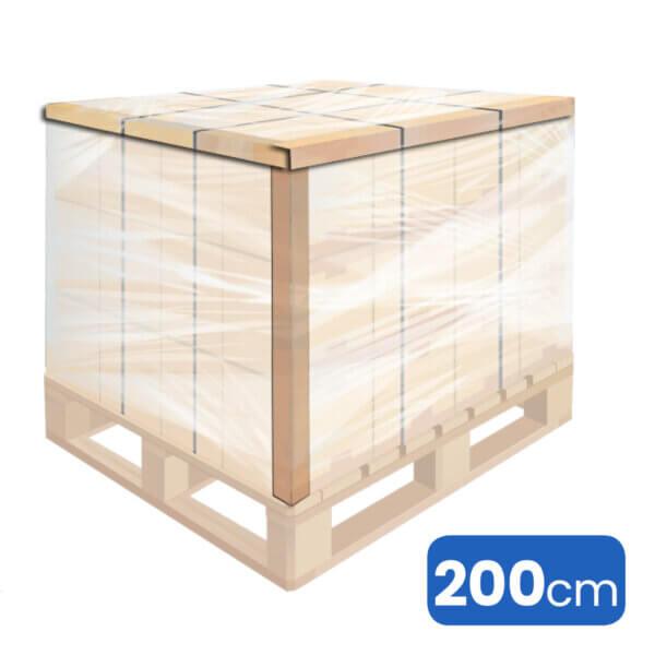 2m lange kartonhoeken of hoekprofielen voor pallets