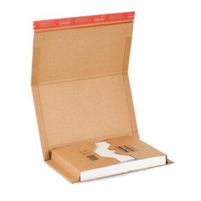 a4 boekwikkel of boekverpakking van karton