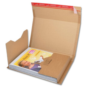 kartonnen boekwikkel verpakking A3