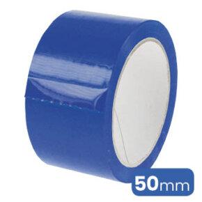 verpakkingstape of kleefband in de kleur blauw