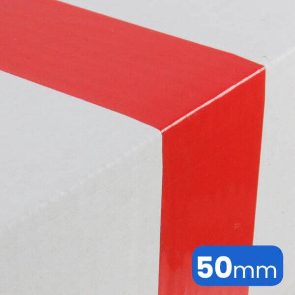 rood plakband, verpakkingstape of wel kleefband